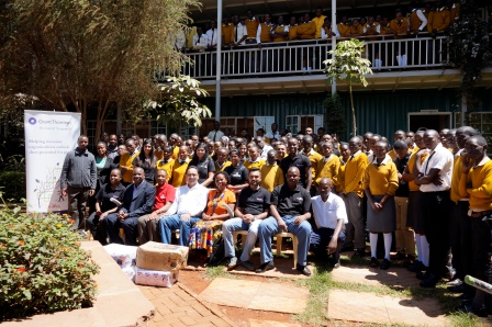 New Dawn Education Centre group photo